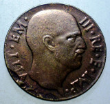 1.709 ITALIA WWII VITTORIO EMANUELE III 5 CENTESIMI 1942 R XF EROARE