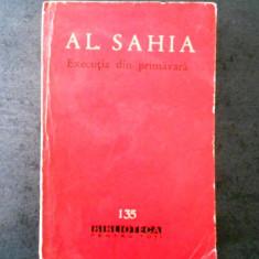 Executia din primavara de al. sahia bpt 135
