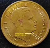 Moneda istorica 200 LEI - ROMANIA REGAT, anul 1945   *cod 5360 = A.UNC + EROARE