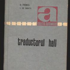 C8753 TRADUCTORUL HALL - D. FRANKEL, I. DE SABATA