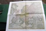 Harta veche a Europei.
