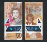 INSULELE CARAIBE █ bancnota █ 50 Dollars █ 2019 █ POLIMER █ UNC █ necirculata