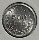 500 Lei 1946 Al, Romania, a UNC, Luciu de batere