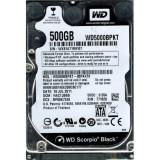 Hard Disk Laptop 500GB WESTERN DIGITAL WD5000BPKT SATA-II 7200RPM 16MB