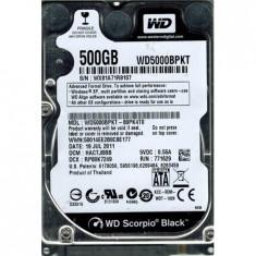 Cumpara ieftin Hard Disk Laptop 500GB WESTERN DIGITAL WD5000BPKT SATA-II 7200RPM 16MB