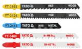 Set 5 lame mixte pentru fierastrau pendular YATO