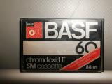 caseta audio BASF ChromDioxid II SM 60 - made in RFG/Vintage/stare: Perfecta