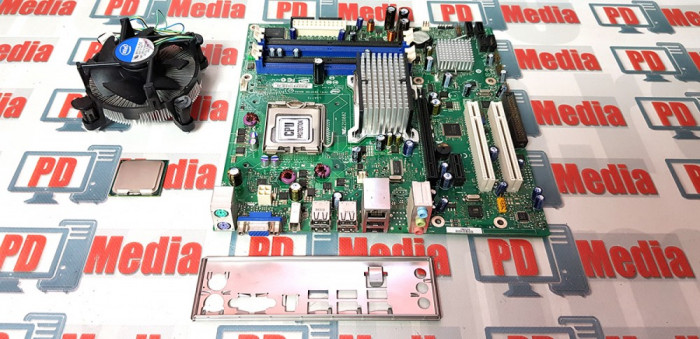 Kit Placa de baza Intel DG33BU + Procesor Quad Core Q6600 + Cooler LGA 775