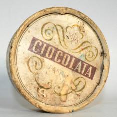 Cutie veche pastile de ciocolata MIA romaneasca 1958