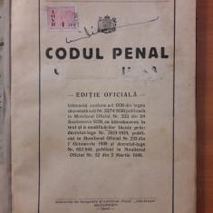 Codul Penal Carol al II-lea - Editie Oficiala 1940 / C5P