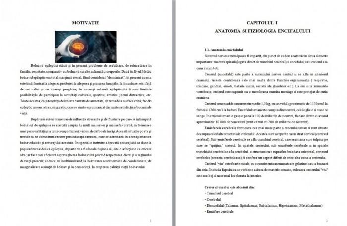 INGRIJIREA PACIENTILOR CU EPILEPSIE - LUCRARE DE LICENTA AMG