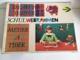 Joc vechi german de tesut, Schulwebrahmen, marca NORIS, anii 60, vintage