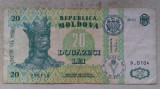 BANCNOTA 20 LEI 2010-REPUBLICA MOLDOVA