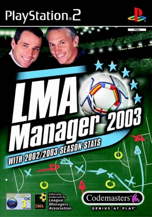 Joc PS2 LMA Manager 2003