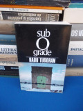 Cumpara ieftin RADU TUDORAN - SUB 0 GRADE ( SFARSIT DE MILENIU , VOL. VII ) , ED. 1-A , 1994