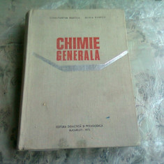 CHIMIE GENERALA - CONSTANTIN RABEGA