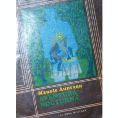 AVENTURA NOCTURNA - MANOLE AUNEANU