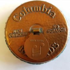 PERIE PENTRU STERS PLACILE DE PATEFON - COLUMBIA -ANGLIA-anii 1920-obiect rar
