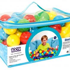 Set bile colorate pentru copii, diametru 6.5cm, multicolor