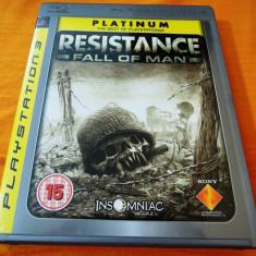 Joc Resistance Fall of Man, exclusiv PS3, original, alte sute de jocuri!, Shooting, 16+, Single player, Sony