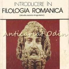 Introducere in Filologia Romanica - Ecaterina Goga