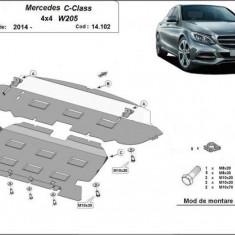 Scut motor metalic Mercedes C-Class W205, 4x4 2014-prezent