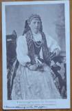 CP , costum popular sasesc din Ardeal ; Feldpost , expediata din Ardeal , 1917, Circulata, Printata