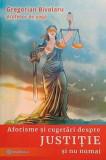 Aforisme și cugetări despre justiție și nu numai