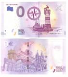 Germania 2019 - 0 euro Leuchtturm, far, bancnota souvenir