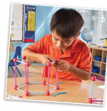 Set de constructie - Forme geometrice, Learning Resources