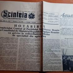 Scanteia 13 mai 1962-articol gospodarii din regiunea banat si litoral 1962