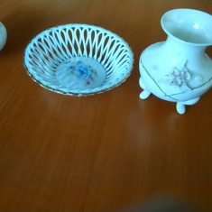Farfurie , vaza si bomboniera