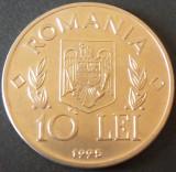 Moneda FAO 10 Lei - ROMANIA, anul 1995  *cod 5092