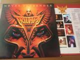 triumph never surrender 1982 disc vinyl lp muzica hard rock canada LAT 1150