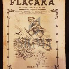 BANU C. (Director), FLACARA (Literara, Artistica si Sociala), Anul II, Numarul 45, 1913, Bucuresti