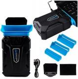 Ventilator Vacuum Cooler pentru Racire Laptop, Portabil, 3000rpm, Alimentare USB
