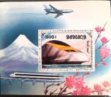 Cumpara ieftin Mongolia 1997 locomotivă, transporturi, trenuri, locomotive Bloc Mnh, Nestampilat