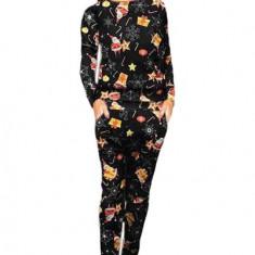 U800-100 Pijama cu model tematic Craciun, L, M/L