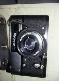 APARAT FOTO VINTAGE CU FILM FED 5B RAR,CU HUSA ORIGINALA -FUNCTIONAL,T.HRATUIT