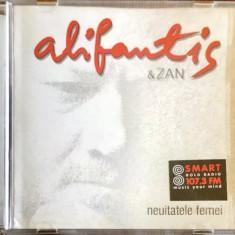 Alifantis & Zan – Neuitatele Femei (1 CD, prima editie)