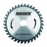 Cumpara ieftin Disc circular Raider, 180 х 20 mm, 24 T