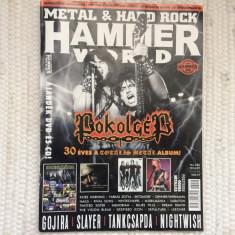 revista metal hard rock hammerworld pokolgep slayer nightwish 2016 in maghiara