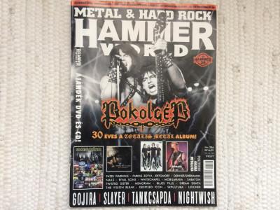 revista metal hard rock hammerworld pokolgep slayer nightwish 2016 in maghiara foto