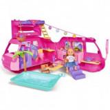 Cumpara ieftin Papusa Simba Evi Love 12 cm Holiday Fun cu rulota si accesorii, Chipolino