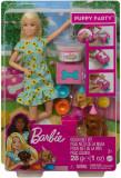 BARBIE GAMA FAMILY SET PAPUSA CU CATELUSI, Mattel