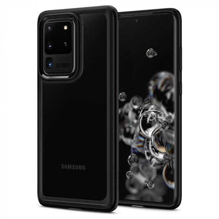 Carcasa Spigen Ultra Hybrid Samsung Galaxy S20 Ultra Matte Black