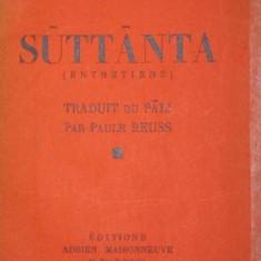 SUTTANTA - GAUTAMA BOUDDHA