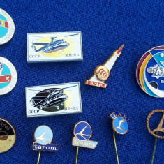 Lot Insigne Aviatie - Cosmonautica