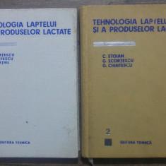 Tehnologia laptelui si a produselor lactate// 196-1970, ambele volume