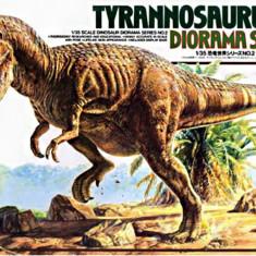 1:35 Tyrannosaurus Diorama 1:35